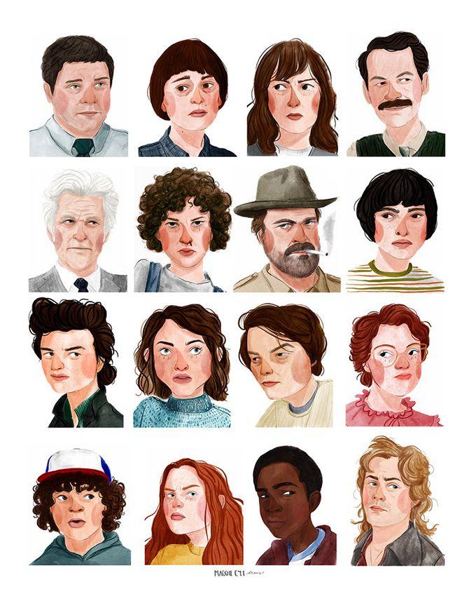 Las ilustraciones de Maggie Cole que te van a enamorar