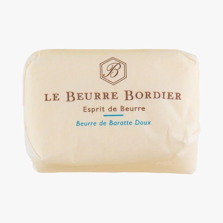 Beurre de baratte Doux - Le Beurre Bordier - Find this product on Bon Marché website - La Grande Epicerie de Paris