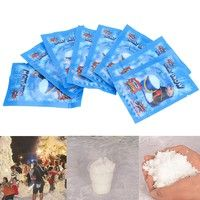 10 pack Fake Magic Instant Snow For Sensory Play Frozen Wedding Xmas Decor Fashion JY Any question p