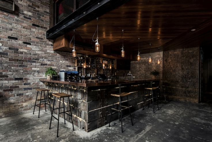 Checkout this rather cool bar located in Sydney, Australia.Donny 's Bar was designed byLuchetti Krelleand resembles a New York loft with its