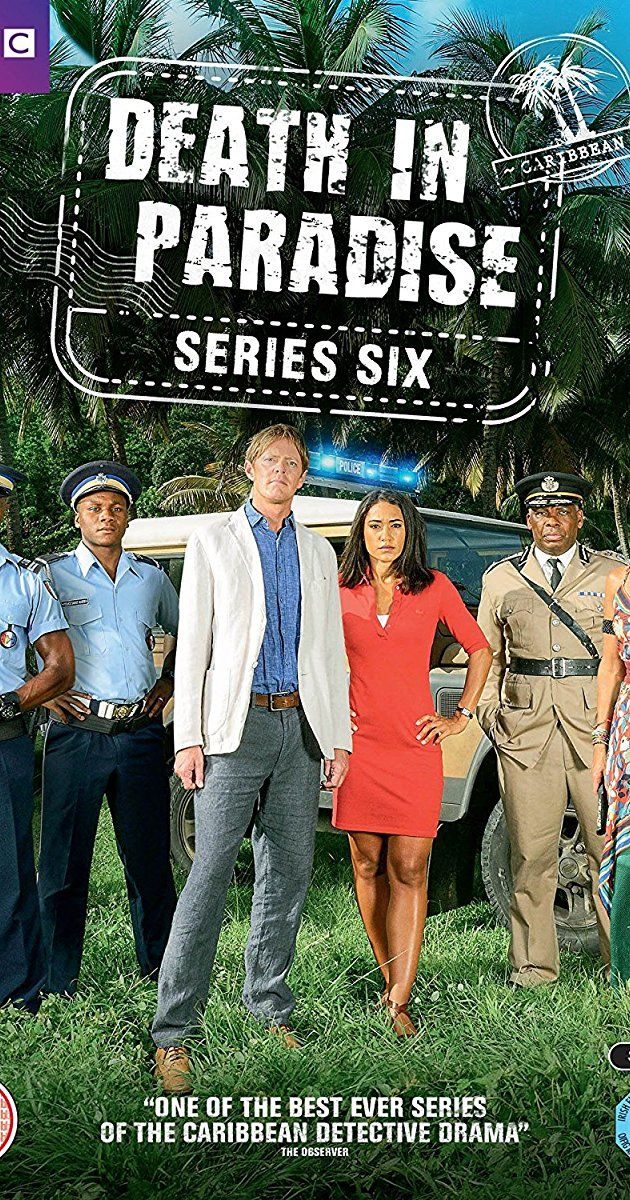 Created by Robert Thorogood.  With Danny John-Jules, Elizabeth Bourgine, Kris Marshall, Don Warrington. A British inspector is transferred to Saint-Marie's police department, but he hates the sun, sea, and sand. The series follow his investigations into murders on the island. Later series see another British DI head the investigative team.