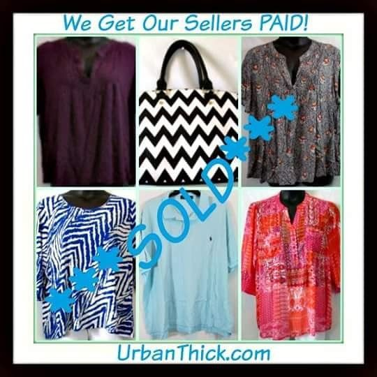 #SOLD - We got Roberta Sarah Tracey and Lynne #PAID #sellyourstuff #urbanthick #curvy #curves #cuteclothes #getpaid #plussize #plusfashion #onlineshopping #greatdeals #affordableclothes #shop #sell #buy #model #makeextracash #passiveincome #tryusforfree #stylish #trendy #supercute #handbags #clothes #accessories UrbanThick.com/sell