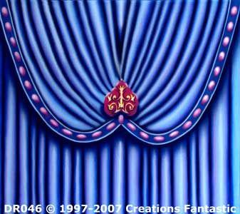 Backdrop DR046 Venetian Carnival Drape Header 6