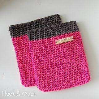 Haak & Maak: Ovenlap of pannenhandschoen? Een kruising tussen een ovenwant en een pannenlap.