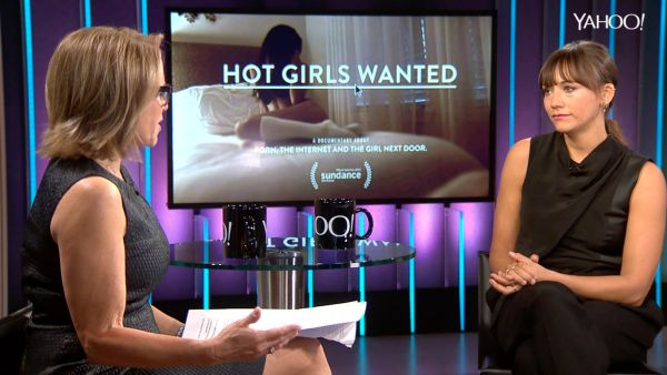 """Actress Rashida Jones is best known for her work in """"The Office"""" and """"Parks and Recreation."""" But her latest project, a documentary called """"Hot Girls Wanted,"""" explores the amateur porn industry, which she says rakes in gobs of cash by exploiting the gullibility of young women who thirst for fame and fortune."""