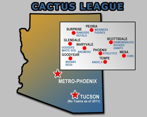 18 best images about Spring Training Cactus League on Pinterest Cleveland