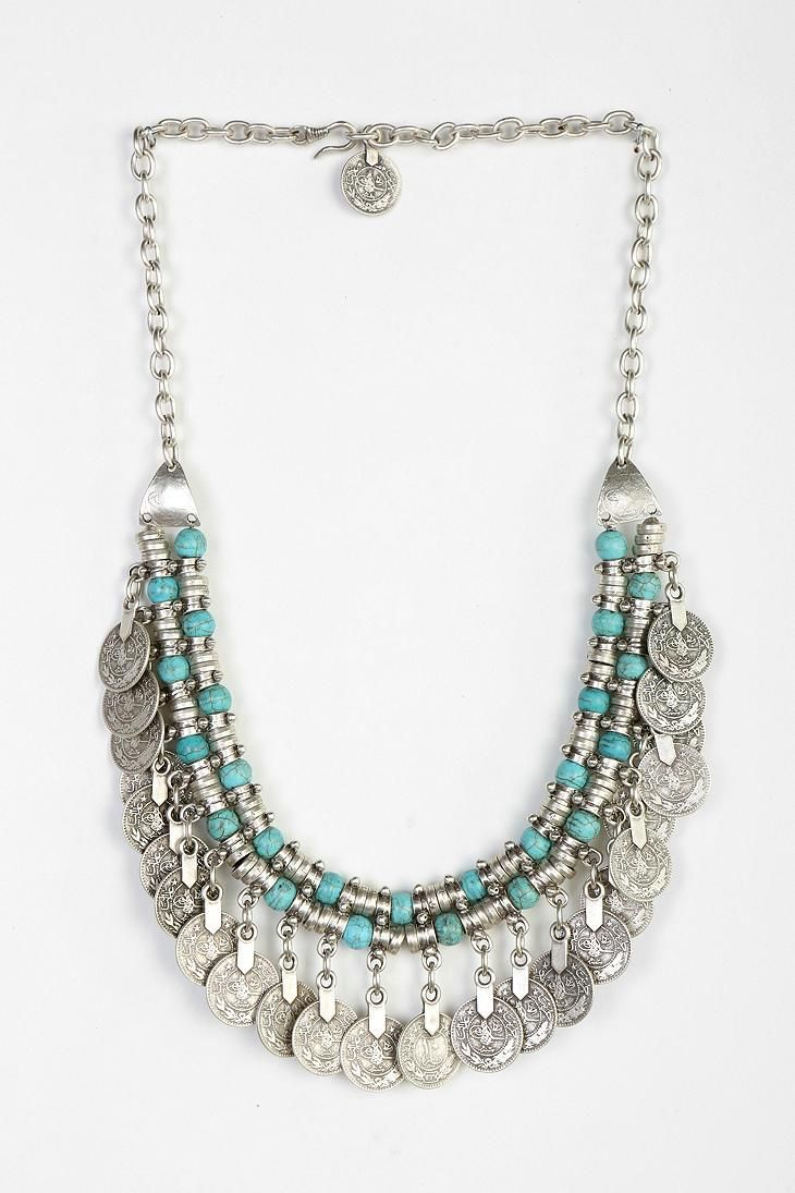 Sogno Bello Coin Necklace #urbanoutfitters