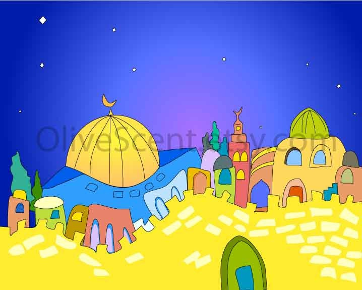 Alquds by olivescent on Etsy
