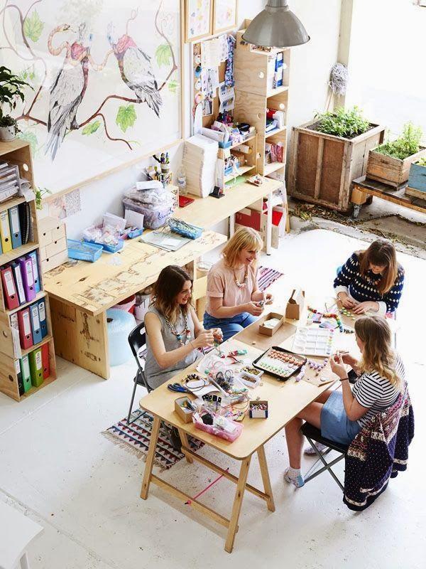 taller mesa movil ....cuando se trabaja con mas personas