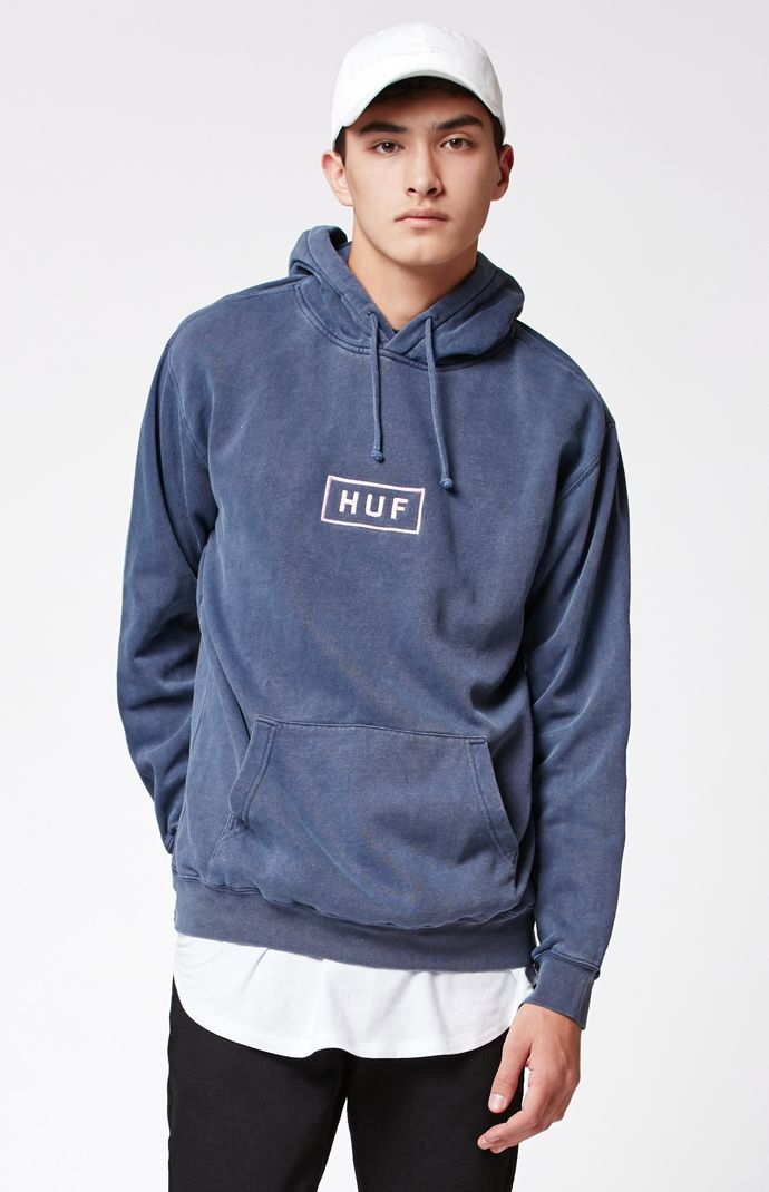Hooked on Bar Logo Overdyed Pullover Hoodie that I found on the PacSun App