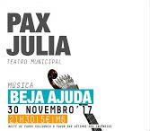 O Pax-Júlia Teatro Municipal, em Beja, recebe na noite de 30 de novembro, uma noite de fados solidária, para com as vítimas dos incêndios. Francisco George, presidente da Cruz Vermelha Portuguesa vai estar presente. #beja #fadosbejaajuda #franciscogeorge
