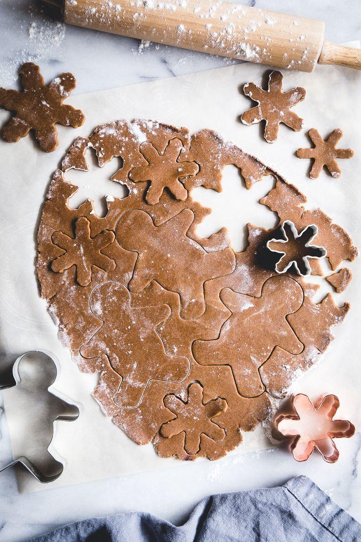 Weihnachtsgeschenke Vegan.Vegan Orange Gingerbread Cookies Recipe Weihnachten Christmas
