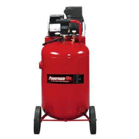Powermate 30-Gallon Oil Free Direct Drive Vertical Air Compressor