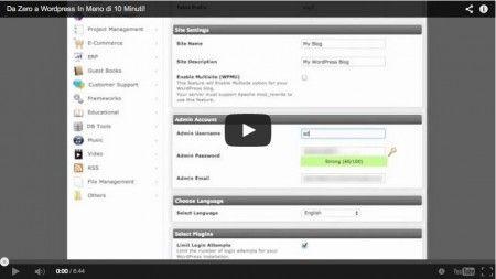 Come Acquistare dominio hosting e Installare WordPress immagine
