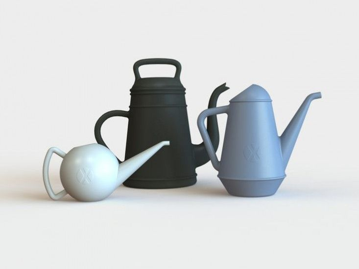 Xala plastic watering cans ; Gardenista  available from http://neo-utility.com/shop/garden-outdoors/butler-watering-can-black