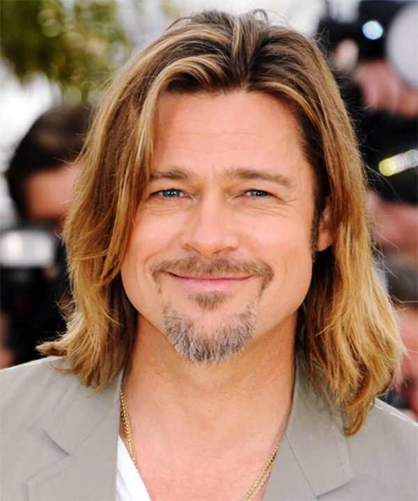 Irresistibly Attractive Long Hairstyles For Men Brad Pitt Hair Long Hair Styles Cool Hairstyles