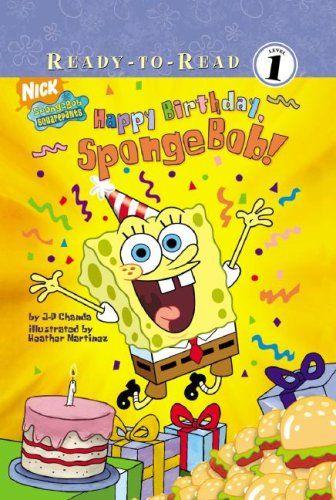 Happy Birthday Spongebob! (Spongebob Squarepants Ready-To-Read: Level 1) @ niftywarehouse.com #NiftyWarehouse #Spongebob #SpongebobSquarepants #Cartoon #TV #Show