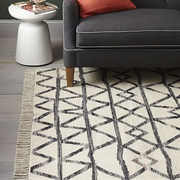 Torres Wool Kilim - Iron #westelm