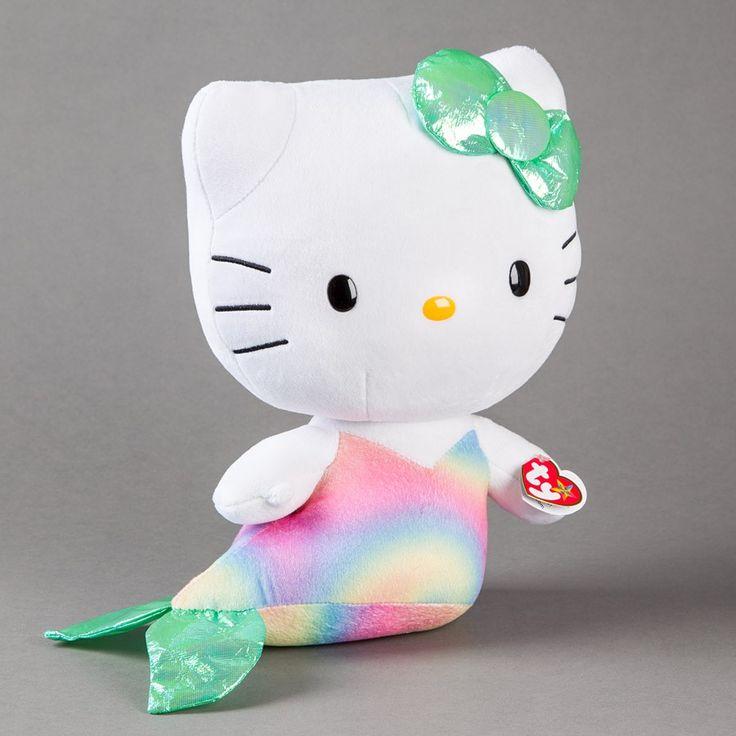 """12"""" Mermaid Hello Kitty Ty Beanie Baby Price $12.95"""