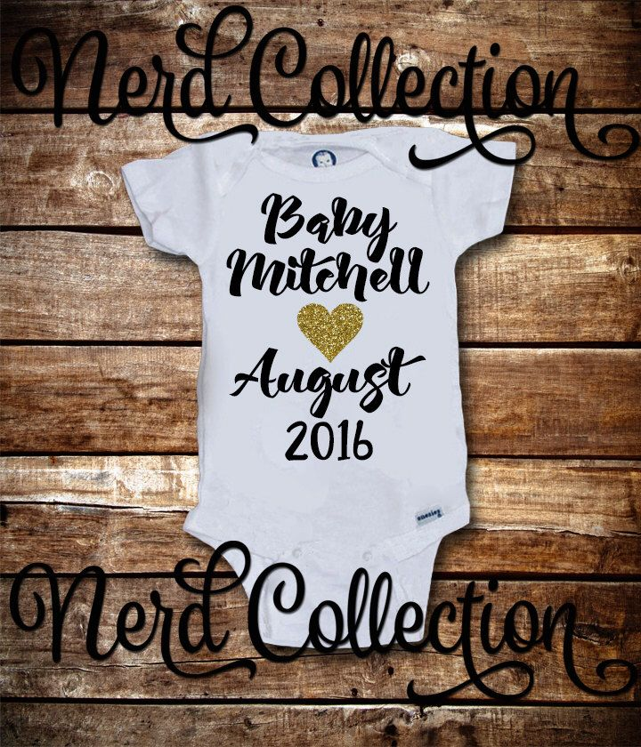 Baby Onesie Pregnancy Birth Announcement Picture Reveal Surprise New Grandparents New Mom Dad Gift Baby Shower Baby Clothing Gerber New by NerdCollection on Etsy https://www.etsy.com/listing/269610051/baby-onesie-pregnancy-birth-announcement