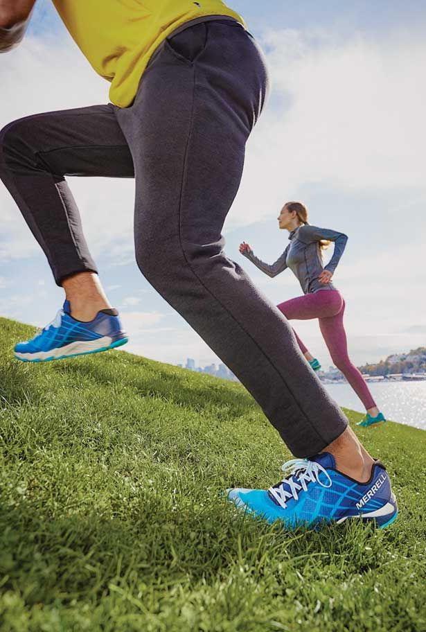 Nature's Gym: Trail and Road Running Shoes | Merrell