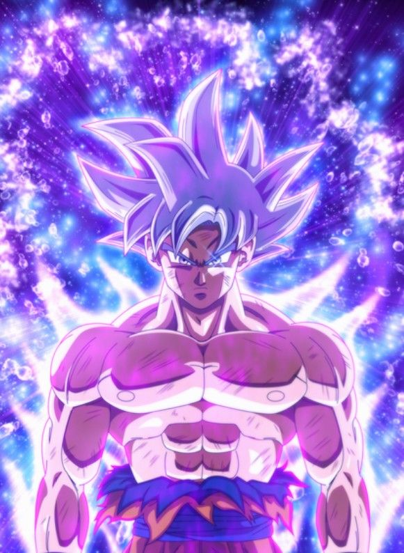 Goku Ultra Instinct Mastered Dragon Ball Super Goku