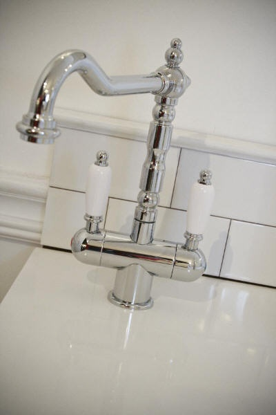 The Antica 2 Lever Sink Mixer