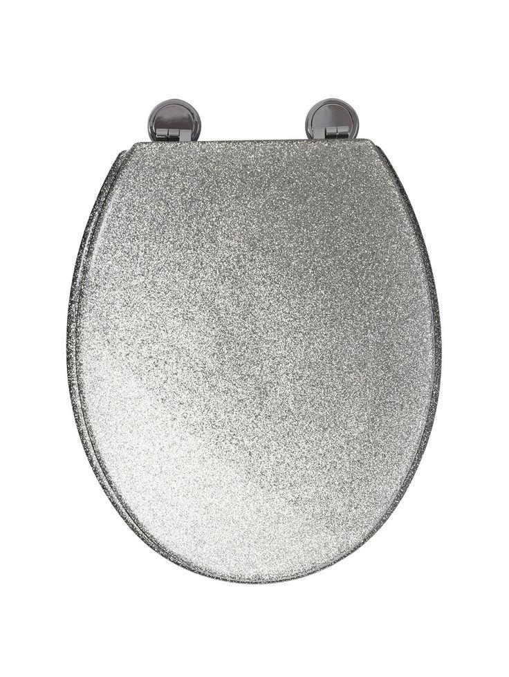 white sparkle toilet seat. Croydex Silver Glitter Toilet Seat Best 25  toilet seats ideas on Pinterest Black