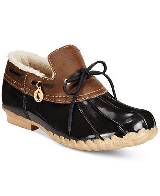 Sporto Pamela Waterproof Duck Booties - Boots - Shoes - Macy's