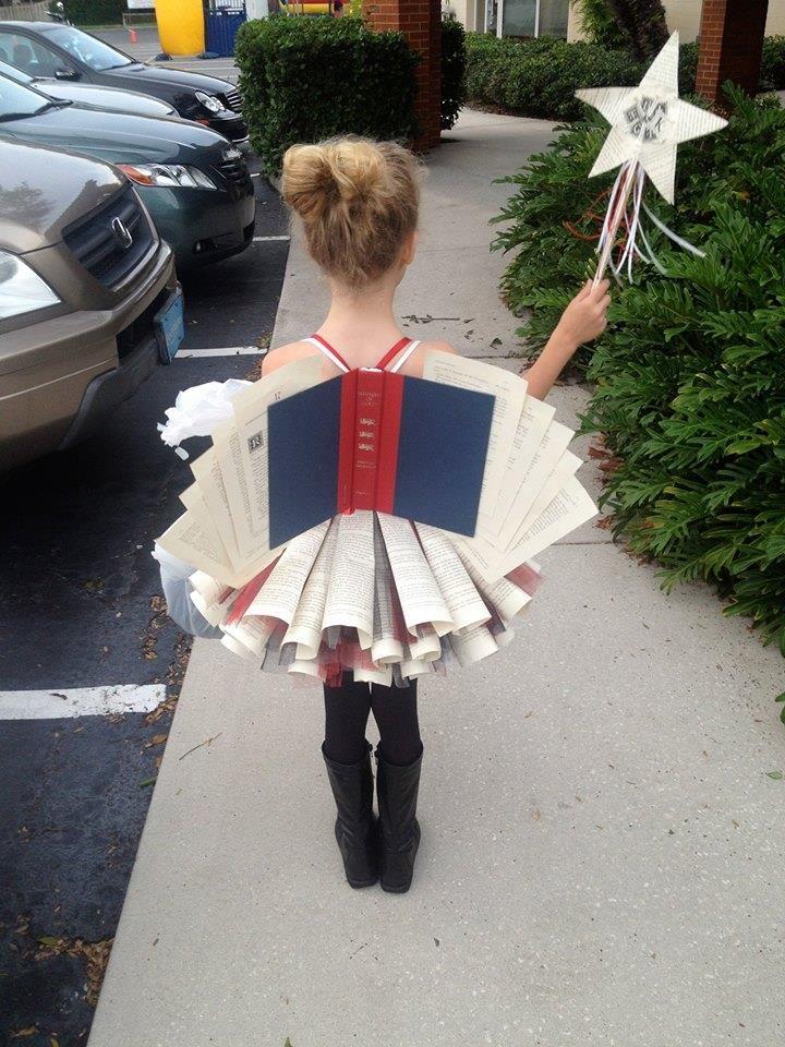 Book-fairy… Best costume ever.