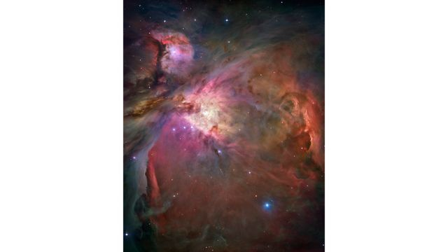 Hubble's sharpest view of Orion Nebula (images)