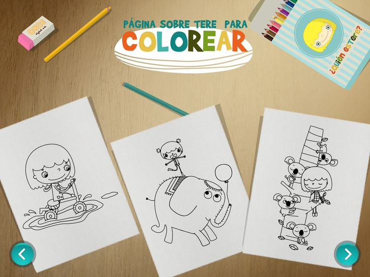 Welcome to the colourful world of Terri! Enjoy this free coloring book pages featuring plenty of characters and animals on cheerful scenes from Terri's world. #iPad #appsforkids #coloring