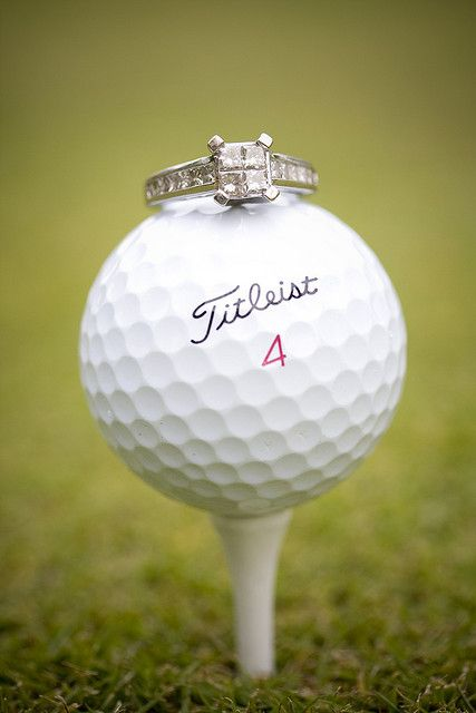 "golf engagement pic | The Million Dollar Hole at Horseshoe Bay Resort is the perfect place to say ""I Do"" for golf lovers."