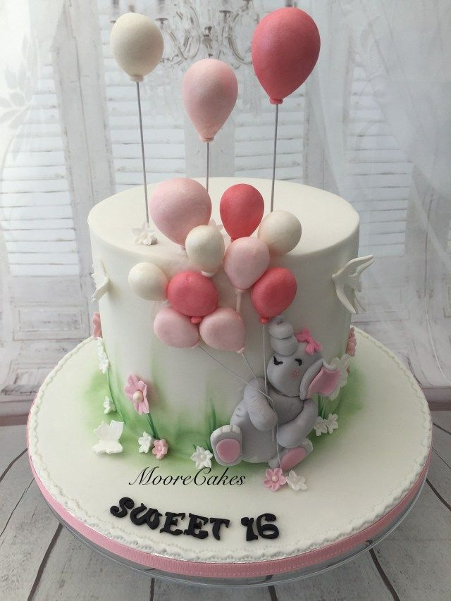 Fantastic 34 Beautiful Picture Of Elephant Birthday Cakes Bolo Personalised Birthday Cards Bromeletsinfo