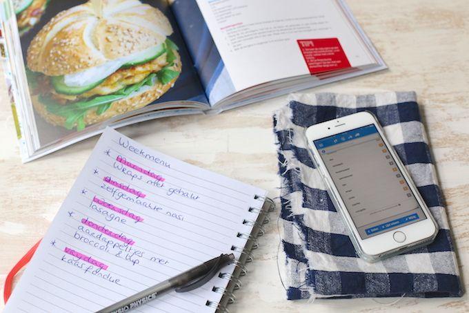 Tips voor het plannen van een weekmenu