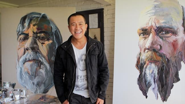 """'I have never feared failure,"""" says Anh Do, glancing up at one of his thick-layered paintings in his studio on the NSW south coast. """"My father took us from Vietnam across to Australia — 40 people on a 9m-long fishing boat — and if he failed, 40 people including his wife and two baby children are dead. So I ask myself: if I fail at painting, are 40 people going to die? No? Then just move forward and have a go."""""""