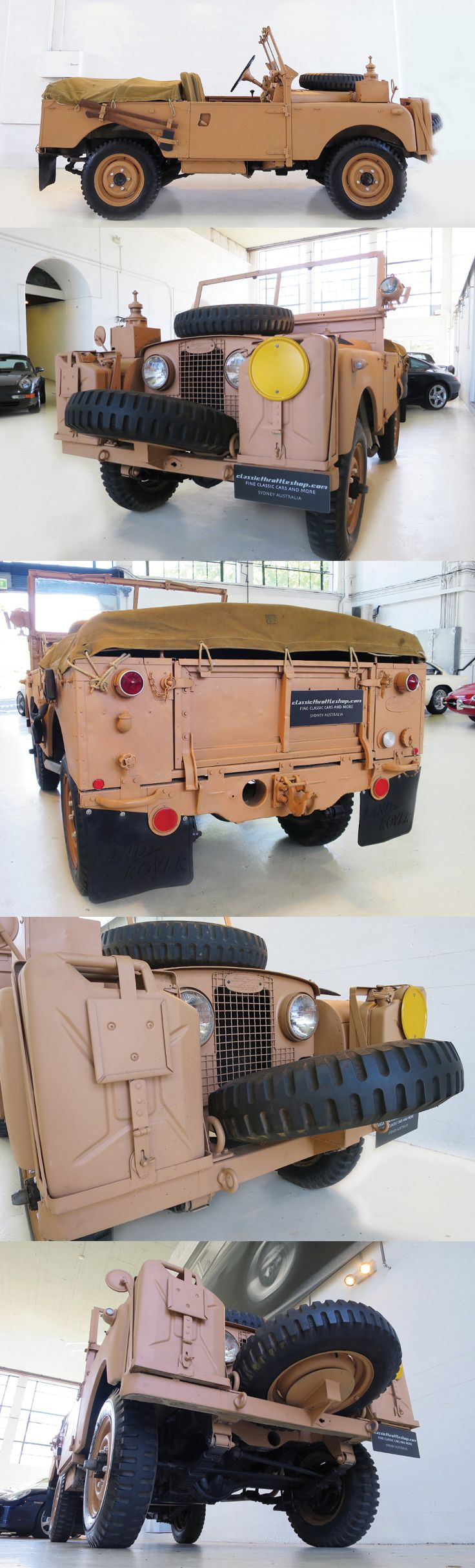 1954 Land Rover Series 1 Desert Rat