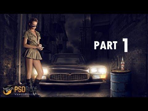 Advanced Lighting Effects Manipulation PART 1 - (PSD Box)
