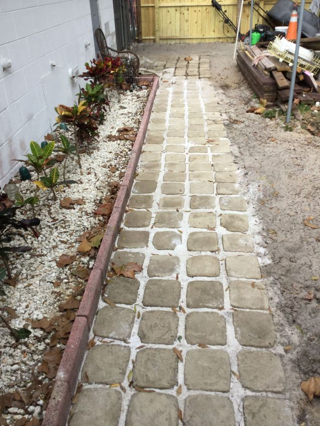 how to build stepping stone walkway