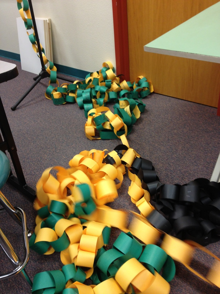 Another idea. During Homecoming (or Rival week) we sold spirit chains. $.05 a link. Each class had their own chain hanging from the ceiling (high ceilings). (The rivalry was if someone donated a penny, it removed a link, wasn't always used.) Use your school colors. Each class gets a color, seniors can use all of the colors. Your expenses will be small. Construction paper, tape or staples, string (for hanging from the ceiling and jars to collect the money.) And someone to stand on a ladder.