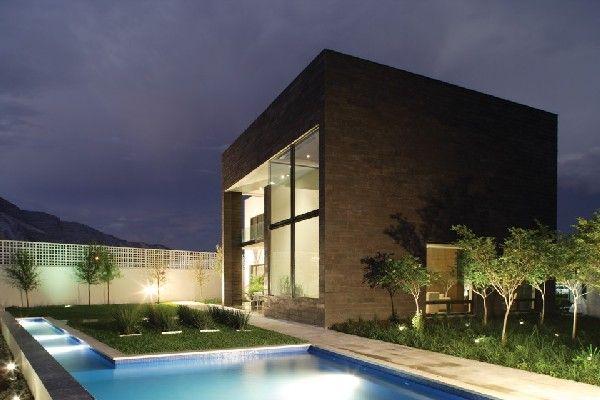 Casa del Tec 167, designed by GLR Arquitectos, situated in San Pedri Garza Garcia, Nuevo Leon, Mexico.