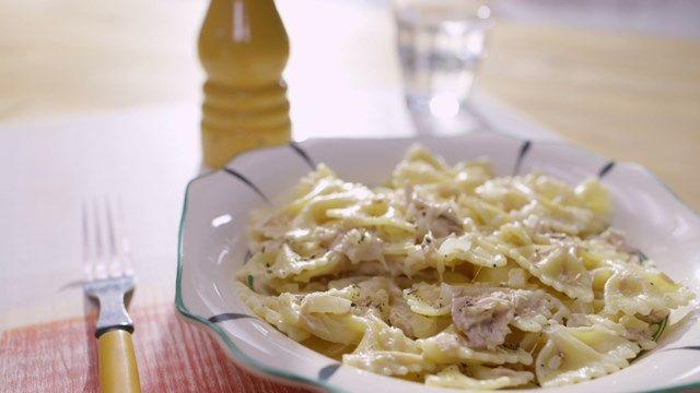 Pâtes crémeuses au thon | Cuisine futée, parents pressés