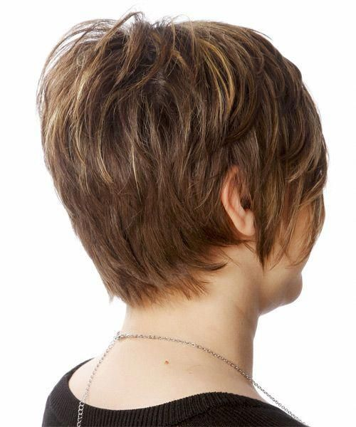 Tag Back And Side View Of Short Haircuts