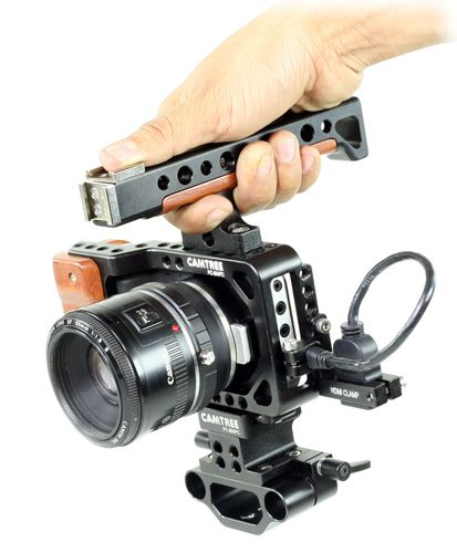 CAMTREE HUNT professional camera cage for blackmagic pocket camera  #camtree #cameracage #blackmagicpocket #filmmaker #cinematographer #videographer  http://www.thecinecity.com/eshop/Camtree-hunt-professional-camera-cage-for-blackmagic-pocket-camera.html