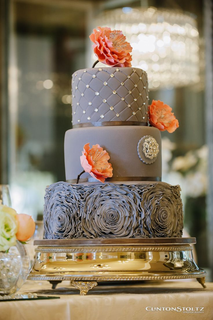 Wedding Cake at Chez Charlene Wedding Venue, Pretoria East, Gauteng