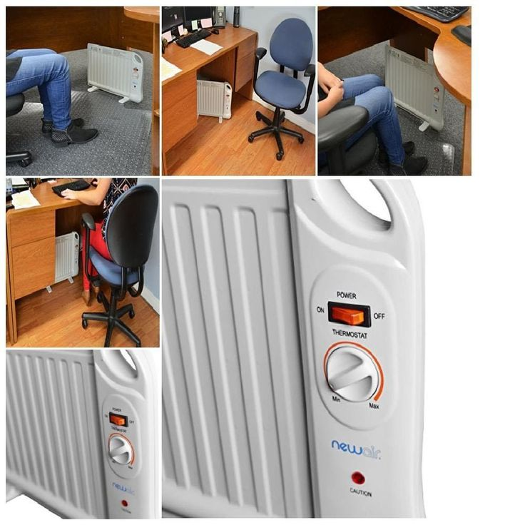 comfort control Newair Ah-400 Portable Space Heater White no noise Heats up fast #NewAir