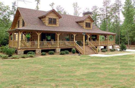 log house plans | Hearthstone Log and Timber Frame Homes Lakota Model