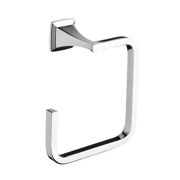 DXV Keefe Towel Ring- Polished Chrome