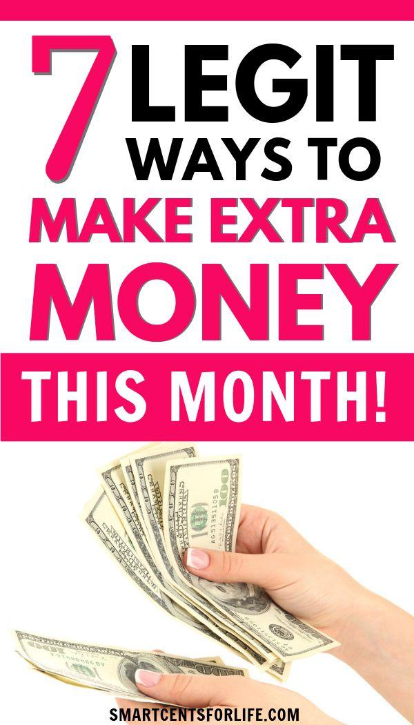 7 Legit Ways to Make Extra Money From Home – Making Money