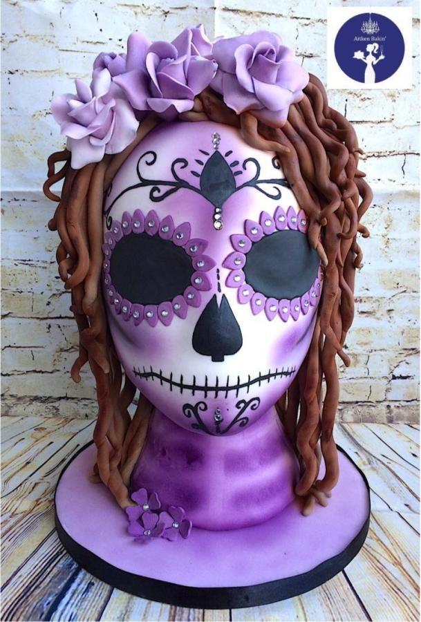 Halloween Cake Decorations Nz : 1000+ ideas about Sugar Skull Cakes on Pinterest Skull ...